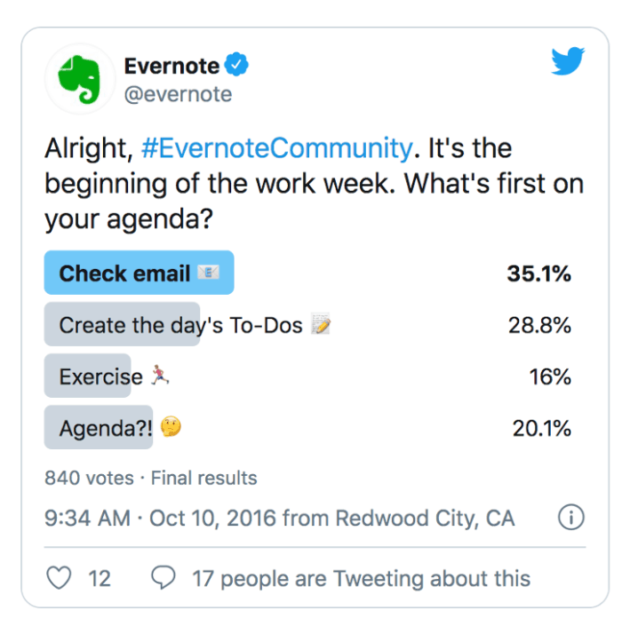 Evernote Community screenshot