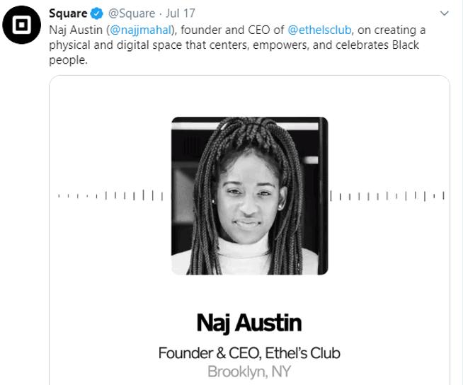 Square social media