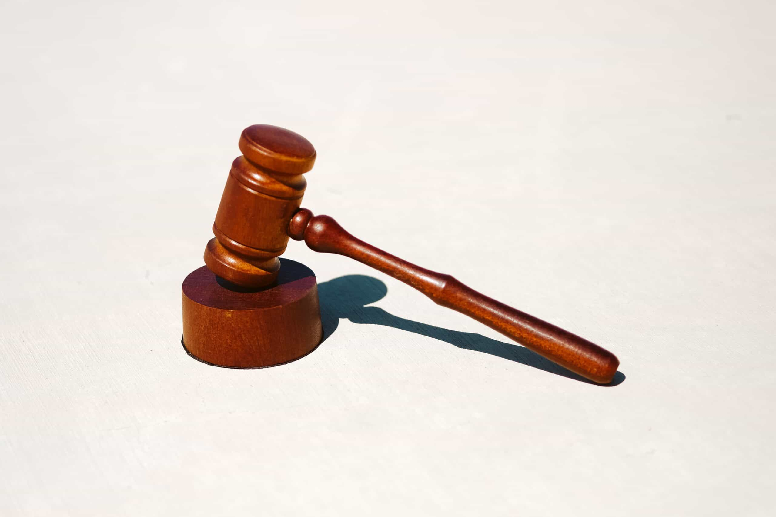 regulation judge gavel